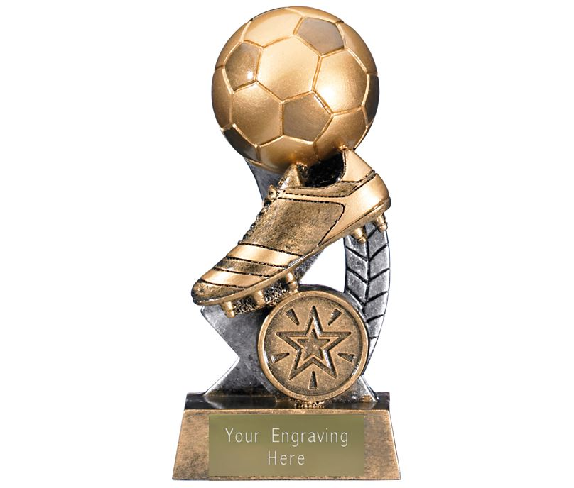 "Escapade II Ball and Boot Trophy 12.5cm (5"")"