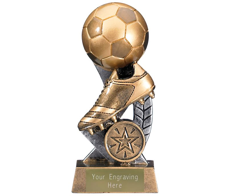 "Escapade II Ball and Boot Trophy 13.5cm (5.25"")"