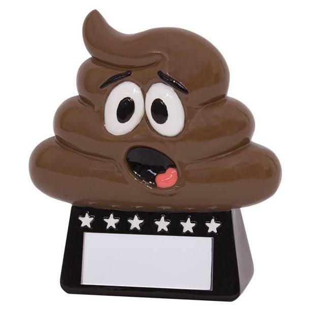 """Oh Poop! Novelty Award 9cm (3.5"""")"""