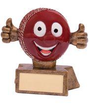 """Smiler Novelty Cricket Trophy 7.5cm (3"""")"""