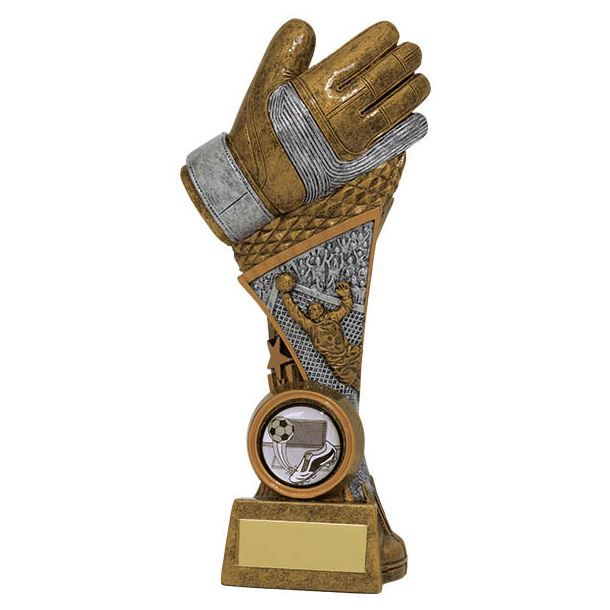 "Century Goalkeeper Tower Football Trophy 19.5cm (7.75"")"