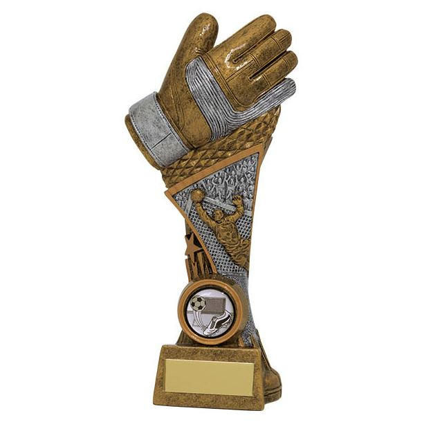 "Century Goalkeeper Tower Football Trophy 22.5cm (9"")"