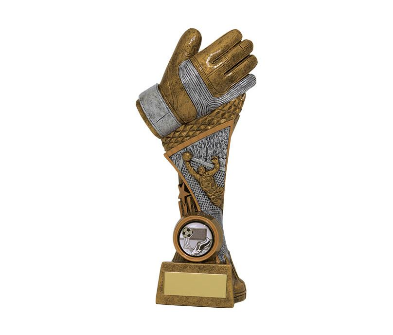 "Century Goalkeeper Tower Football Trophy 22.5cm (9"")"