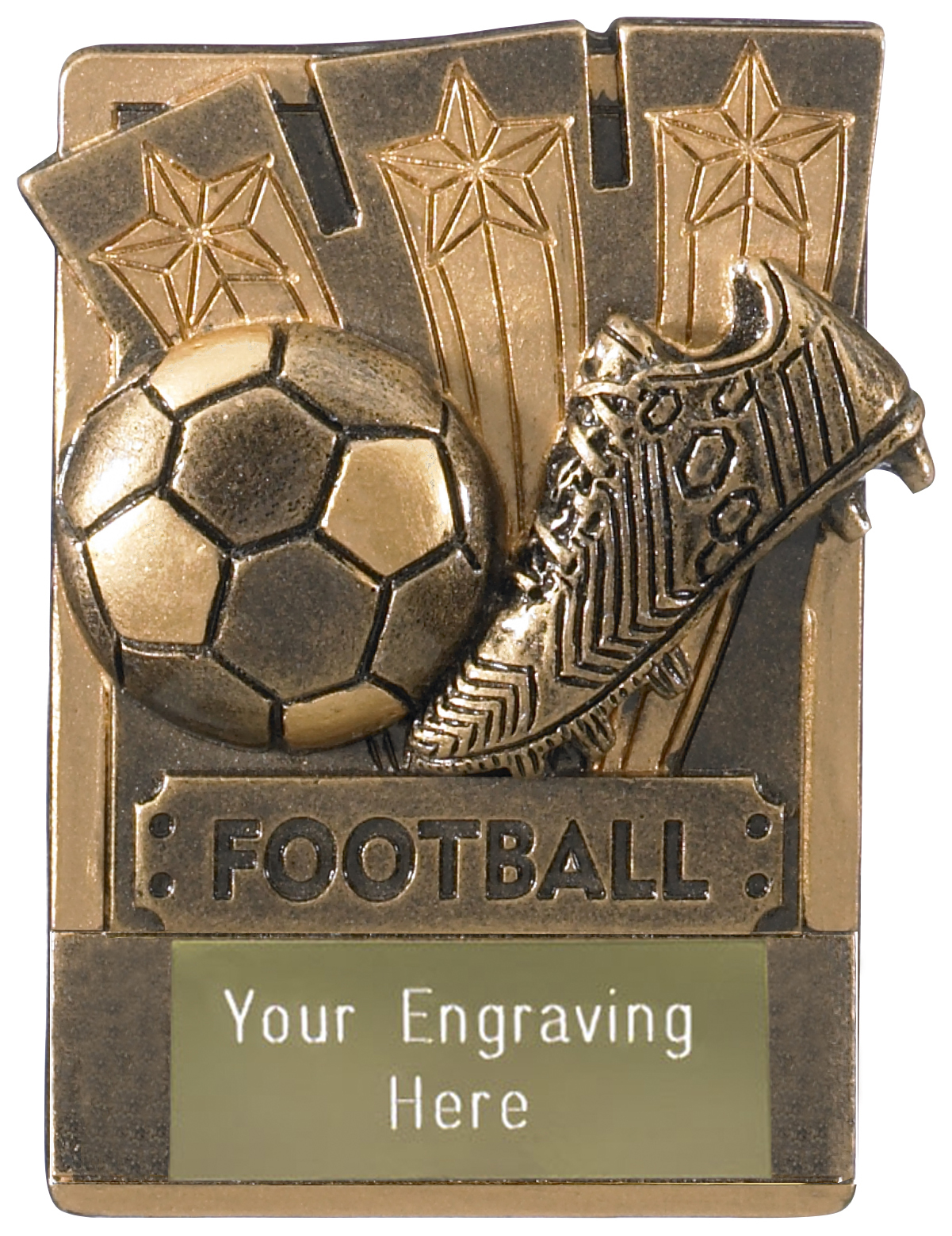 "Football Fridge Magnet Award 8cm (3.25"")"
