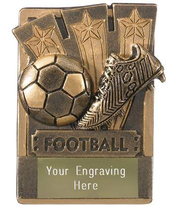 """Football Fridge Magnet Award 8cm (3.25"""")"""