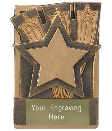 """Star Fridge Magnet Award 8cm (3.25"""")"""