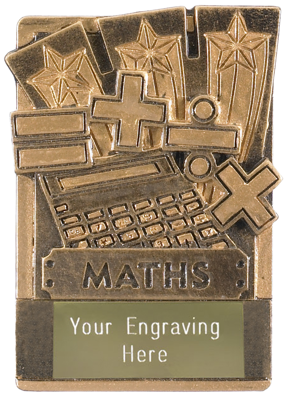 "Maths Fridge Magnet Award 8cm (3.25"")"