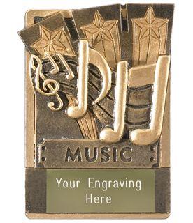 """Music Fridge Magnet Award 8cm (3.25"""")"""