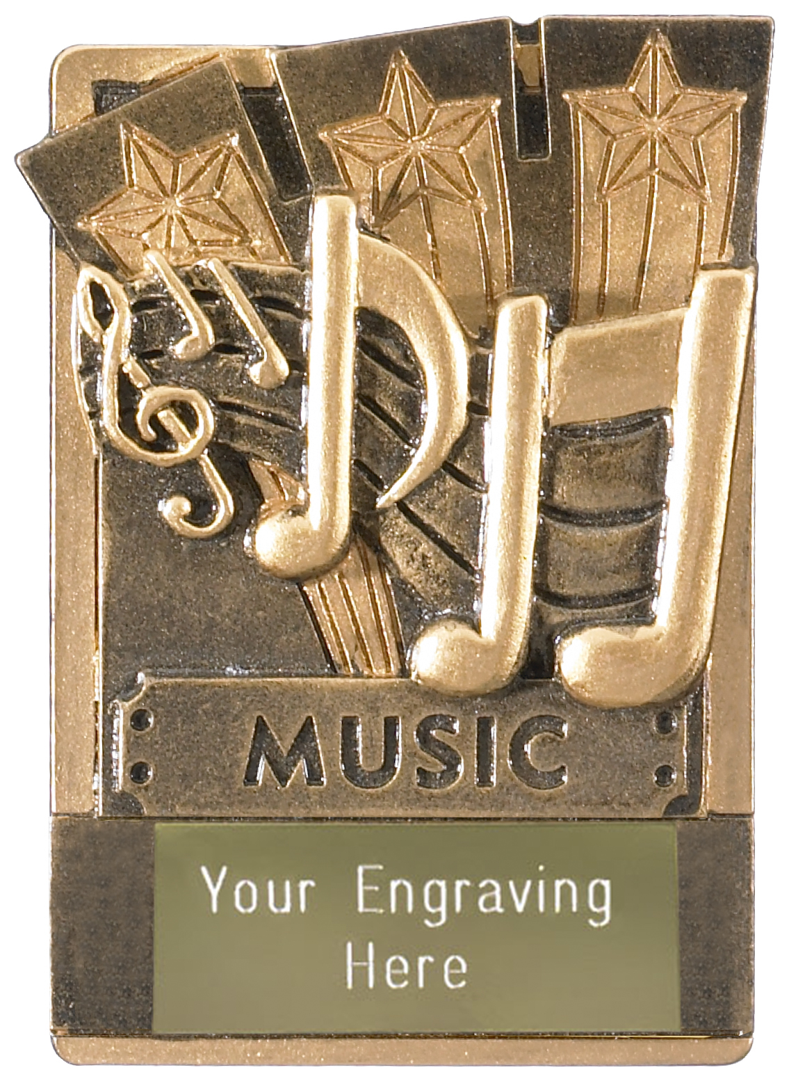 "Music Fridge Magnet Award 8cm (3.25"")"