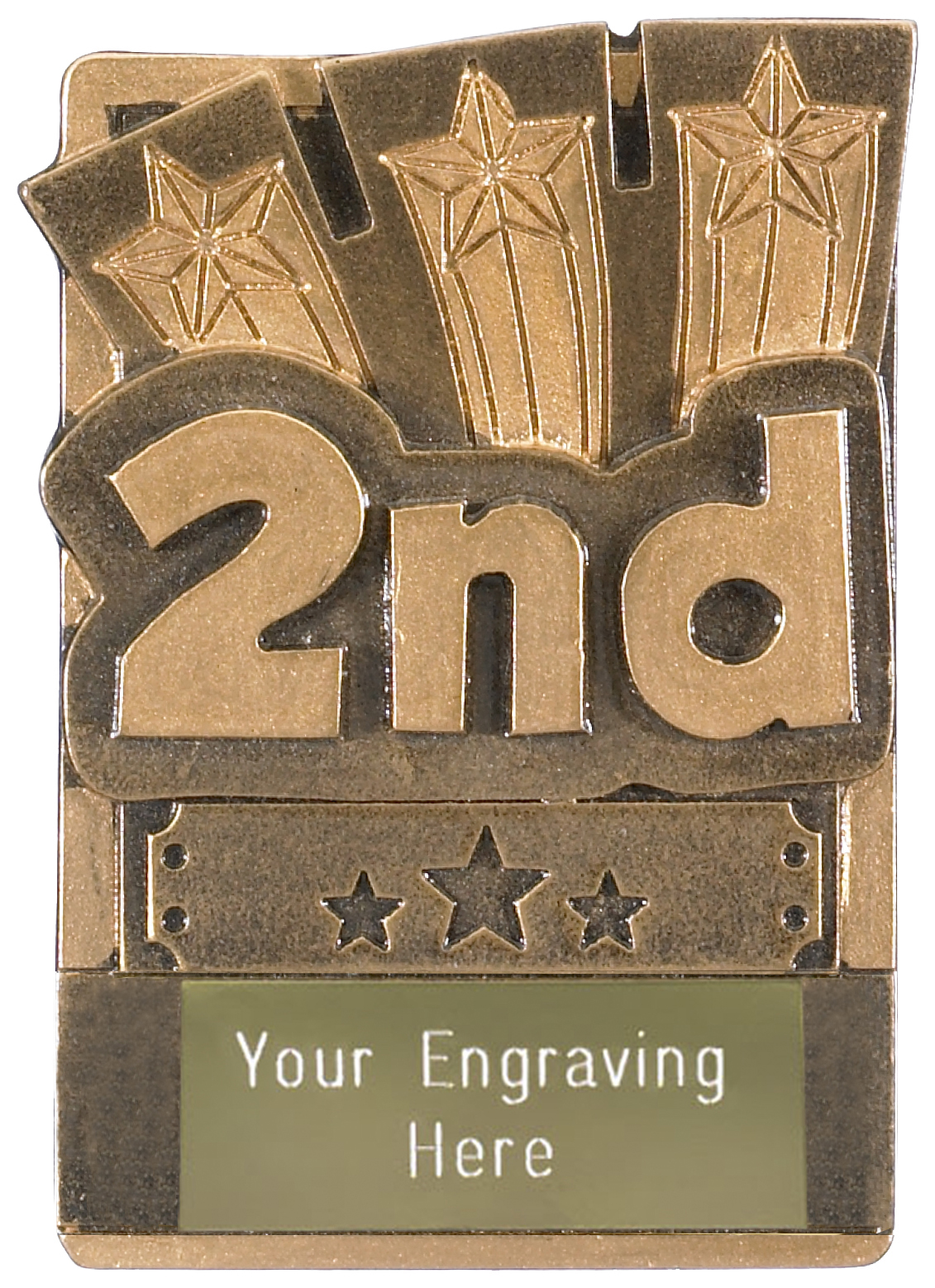 "2nd Place Fridge Magnet Award 8cm (3.25"")"