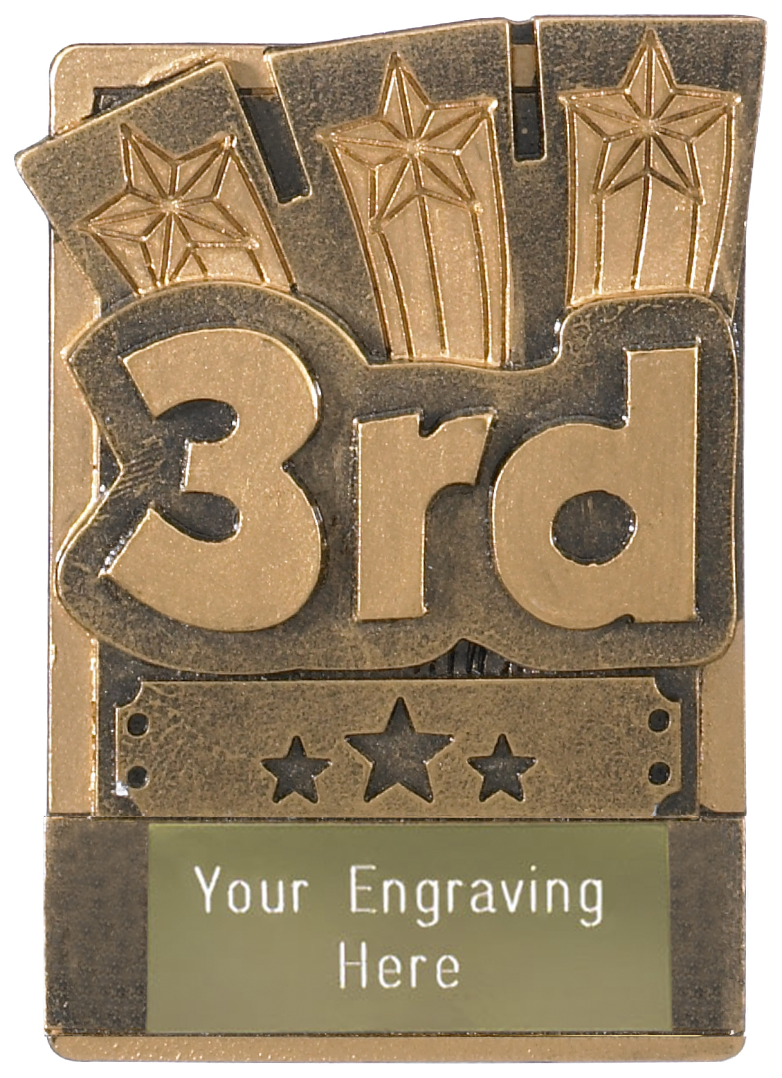 "3rd Place Fridge Magnet Award 8cm (3.25"")"