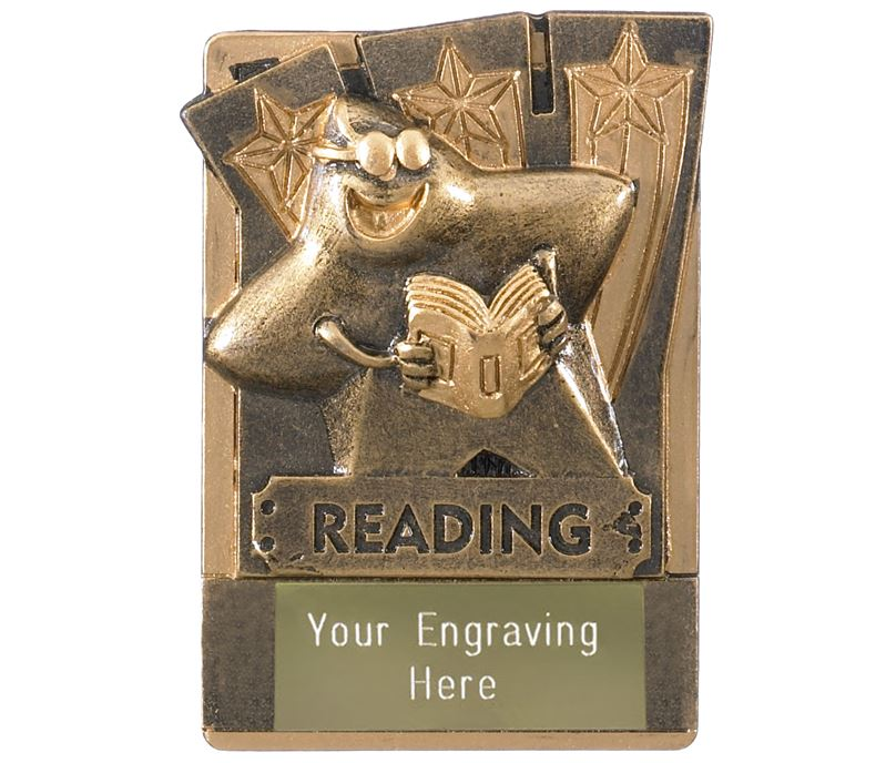 "Reading Fridge Magnet Award 8cm (3.25"")"
