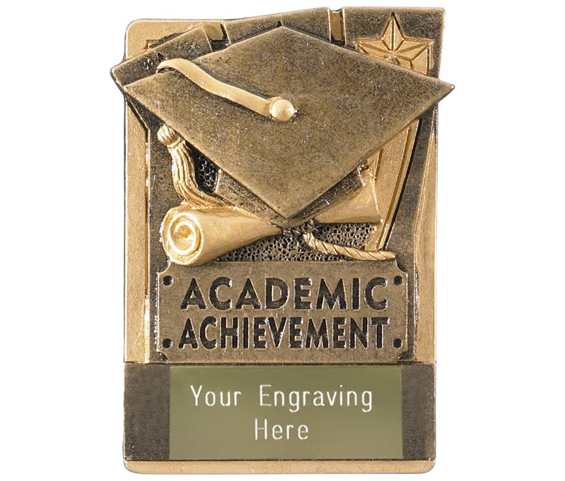 """Academic Fridge Magnet Award 8cm (3.25"""")"""