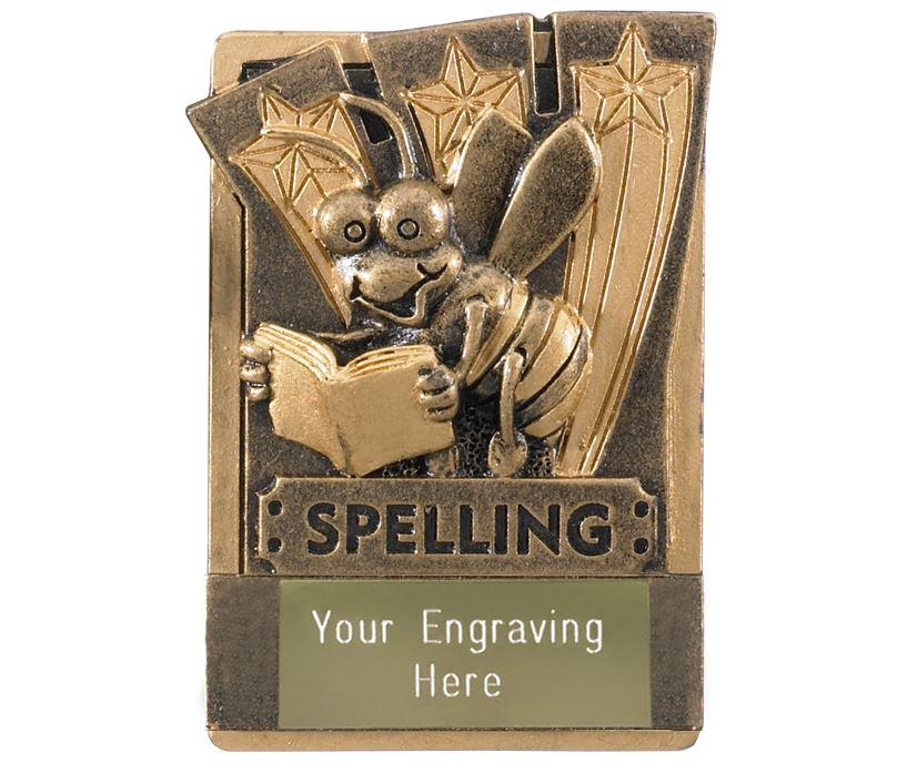 """Spelling Fridge Magnet Award 8cm (3.25"""")"""