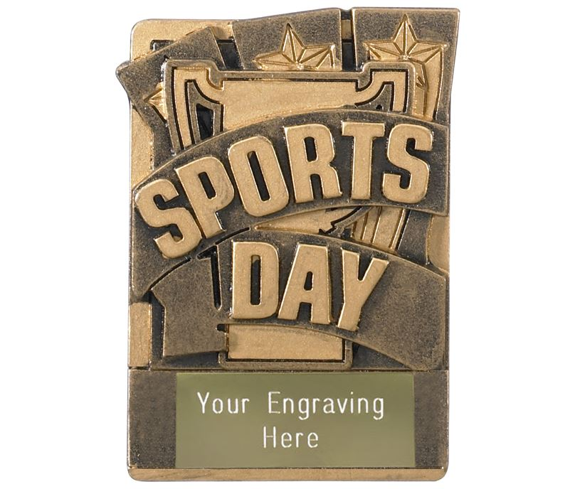 """Sports Day Fridge Magnet Award 8cm (3.25"""")"""