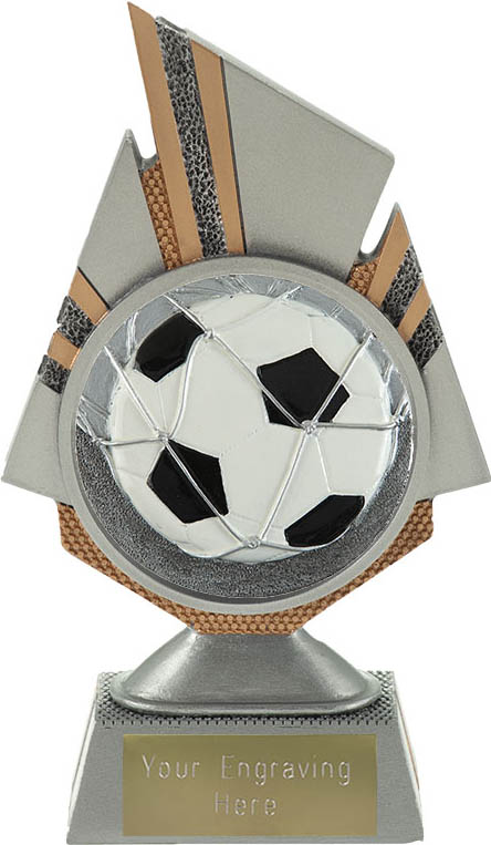 """Shard Football Trophy 17.5cm (6.75"""")"""