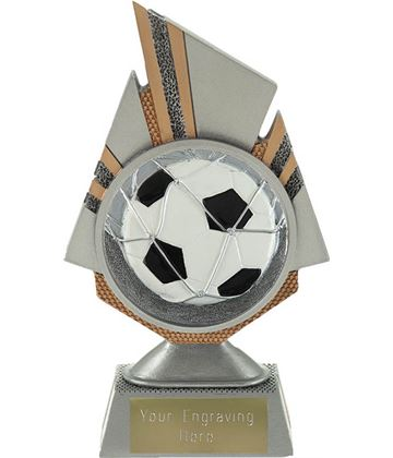 "Shard Football Trophy 17.5cm (6.75"")"
