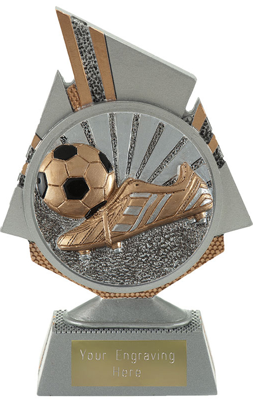 "Shard Boot and Ball Trophy 15cm (6"")"
