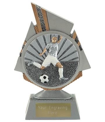 "Shard Footballer Trophy 15cm (6"")"