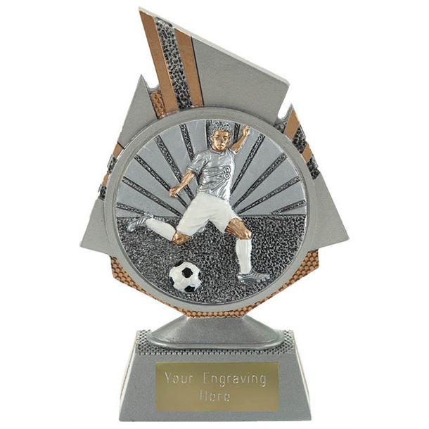 """Shard Footballer Trophy 15cm (6"""")"""