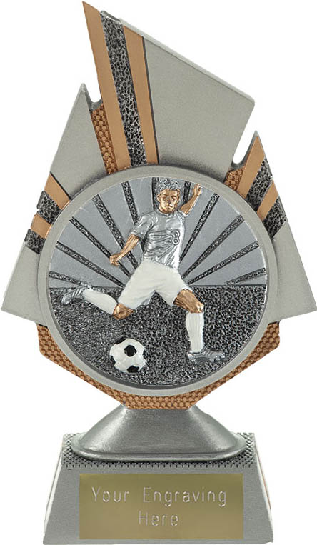 "Shard Footballer Trophy 17.5cm (6.75"")"