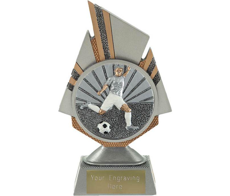 """Shard Footballer Trophy 17.5cm (6.75"""")"""
