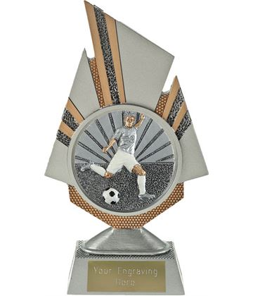 "Shard Footballer Trophy 19.5cm (7.75"")"