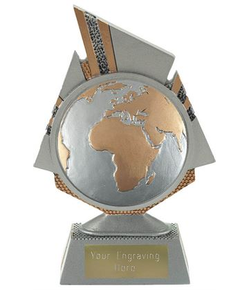 "Shard Globe Trophy 15cm (6"")"