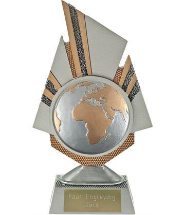"Shard Globe Trophy 19.5cm (7.75"")"