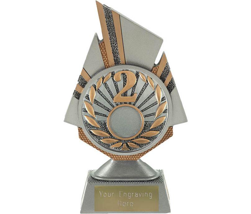 "Shard 2nd Place Trophy 17.5cm (6.75"")"
