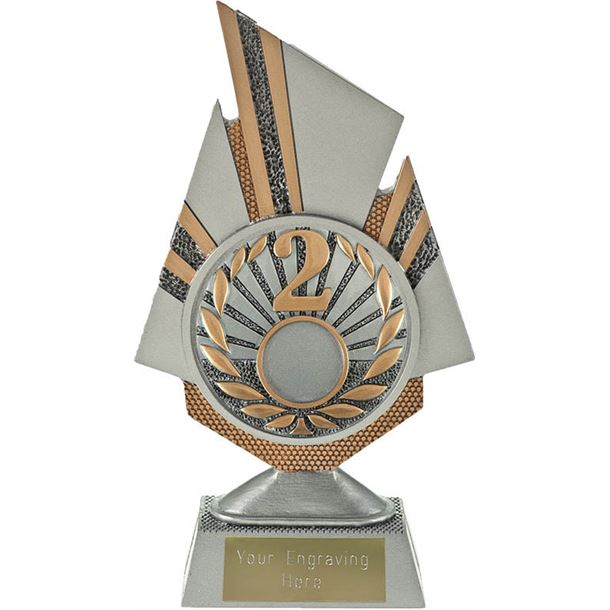 "Shard 2nd Place Trophy 19.5cm (7.75"")"