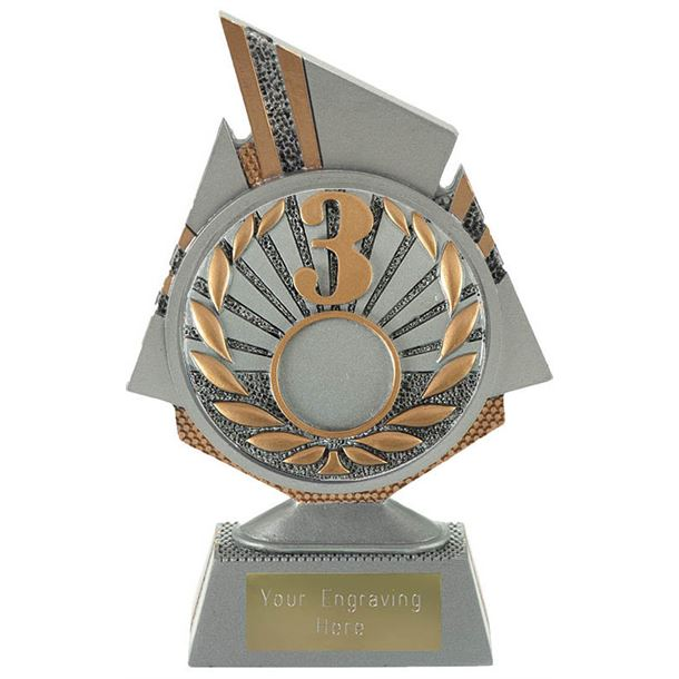 "Shard 3rd Place Trophy 15cm (6"")"