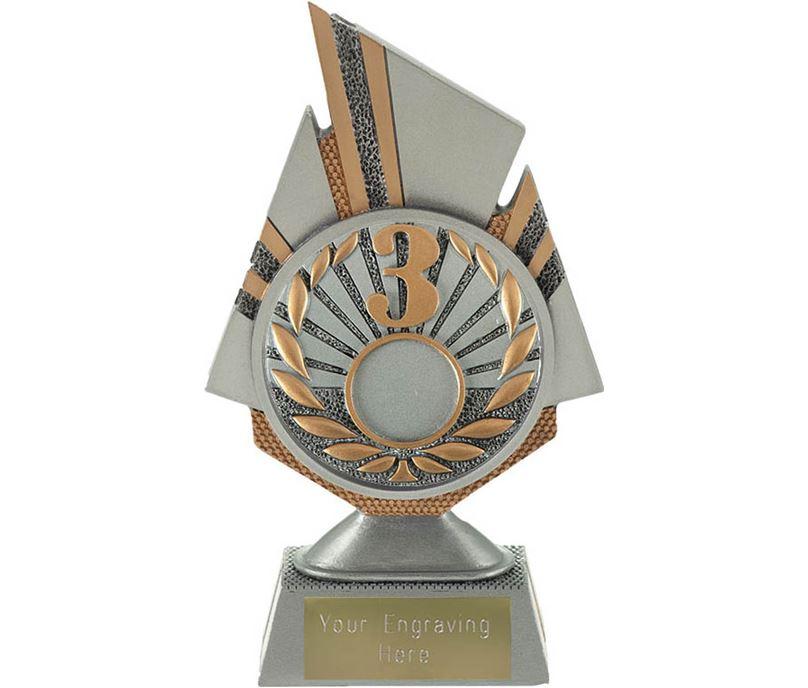 "Shard 3rd Place Trophy 17.5cm (6.75"")"