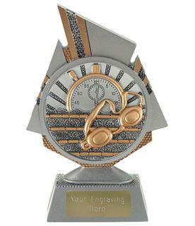 "Shard Swimming Trophy 15cm (6"")"