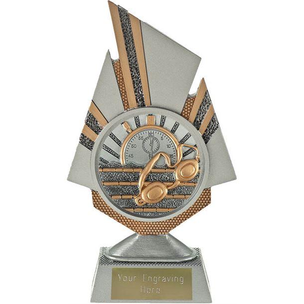 "Shard Swimming Trophy 19.5cm (7.75"")"