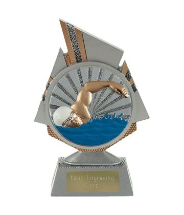 "Shard Swimmer Trophy 15cm (6"")"