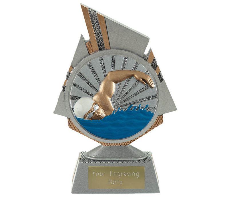 "Shard Swimmer Trophy 15cm (6"")"