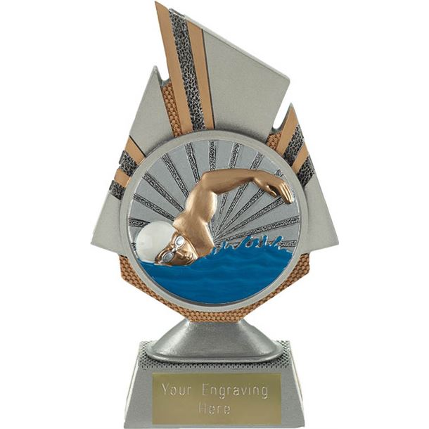 "Shard Swimmer Trophy 17.5cm (6.75"")"