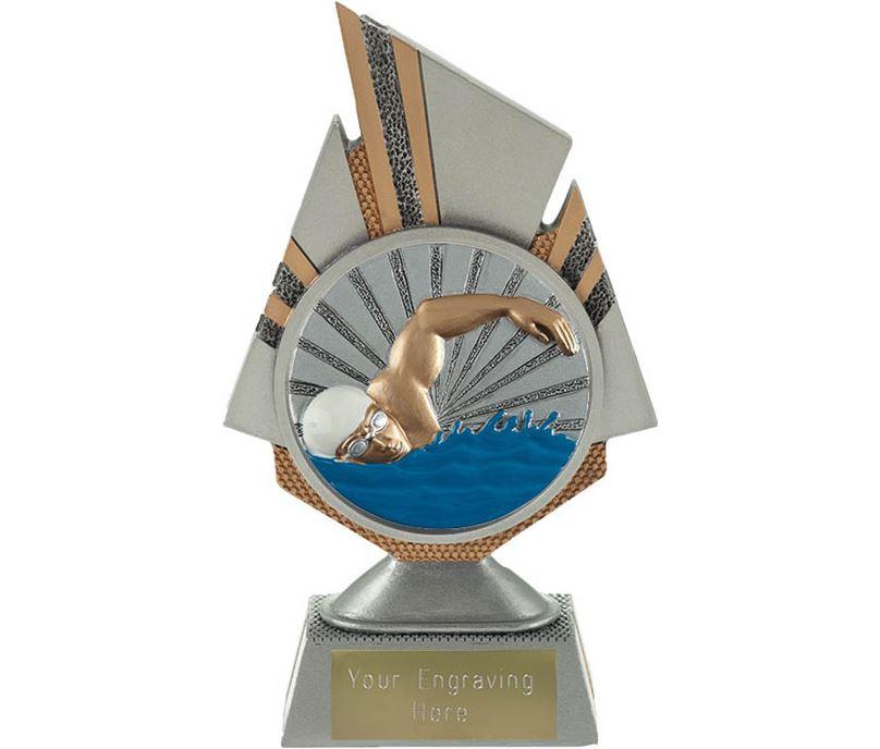 "Shard Swimmer Trophy 17.5cm (6.75"")"