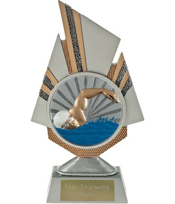 "Shard Swimmer Trophy 19.5cm (7.75"")"