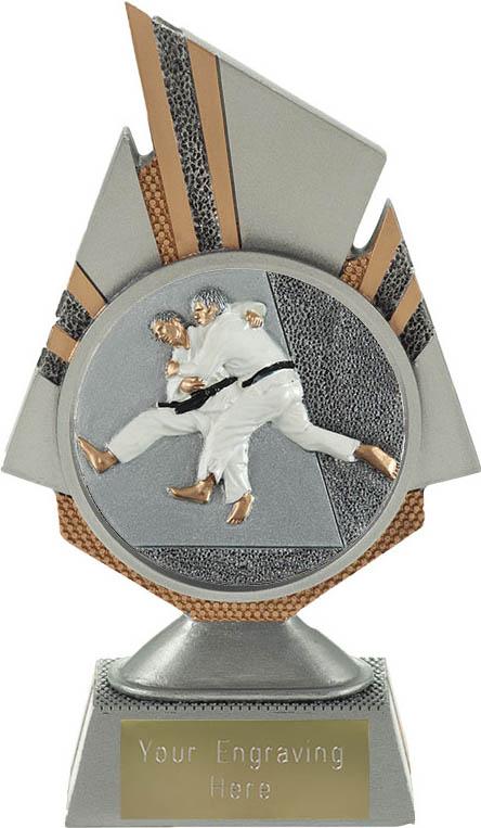 "Shard Judo Trophy 17.5cm (6.75"")"