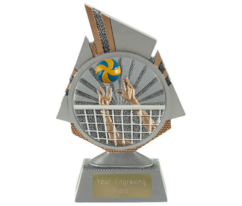 "Shard Volleyball Trophy 15cm (6"")"