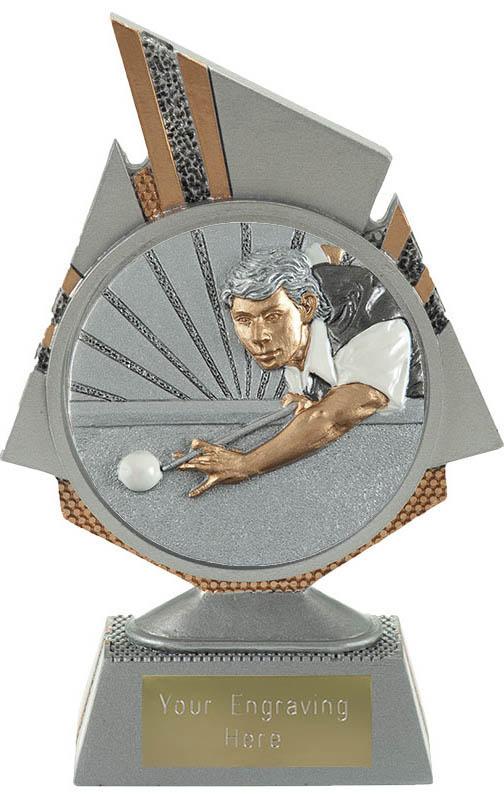 """Shard Snooker Player Trophy 15cm (6"""")"""
