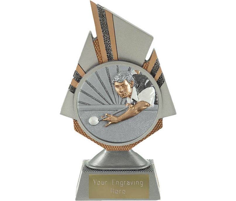 "Shard Snooker Player Trophy 17.5cm (6.75"")"