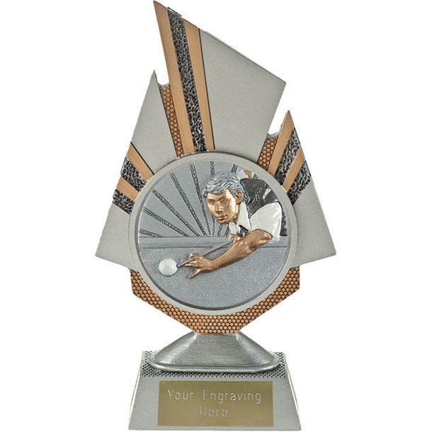 """Shard Snooker Player Trophy 19.5cm (7.75"""")"""