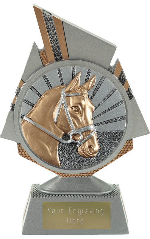"Shard Horse Trophy 15cm (6"")"