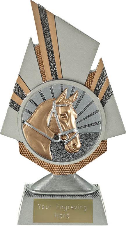 "Shard Horse Trophy 19.5cm (7.75"")"