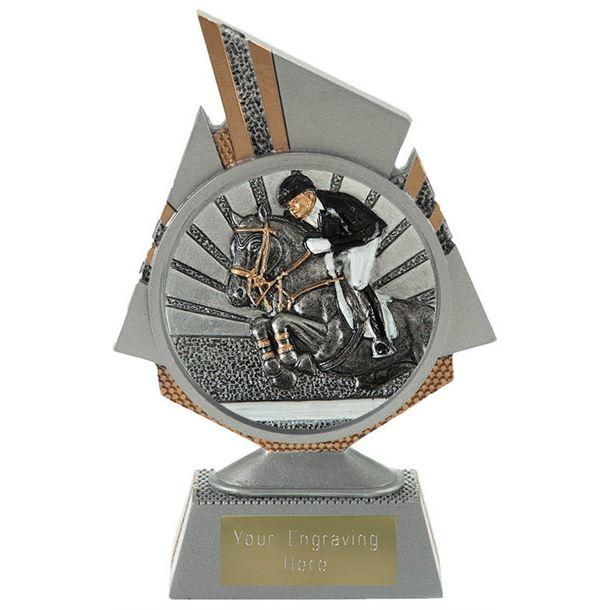 "Shard Show Jumping Trophy 15cm (6"")"