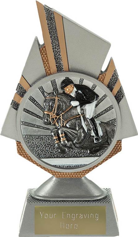 "Shard Show Jumping Trophy 17.5cm (6.75"")"