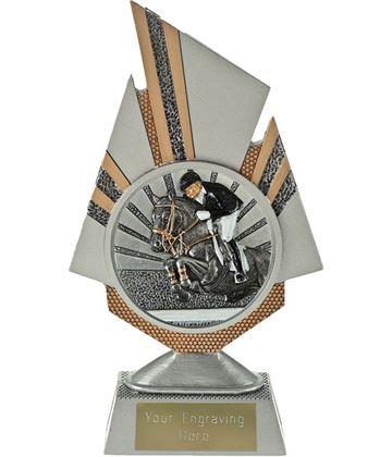 "Shard Show Jumping Trophy 19.5cm (7.75"")"